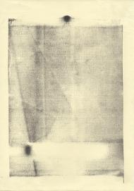 """Serie """"Huellas"""", Monotipias 2014."""